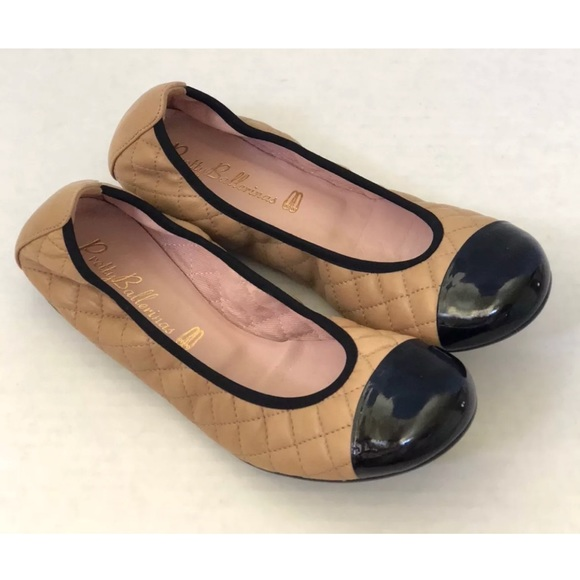 Pretty Ballerinas Shirley Quilted Patent New